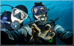 Scuba in France (2005) with Laurent Kbaier
